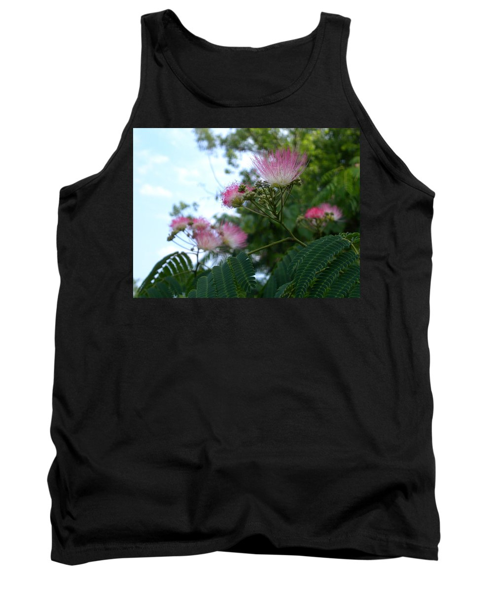 Mimosa Tank Top featuring the photograph Mimosa Sky by Anne Cameron Cutri