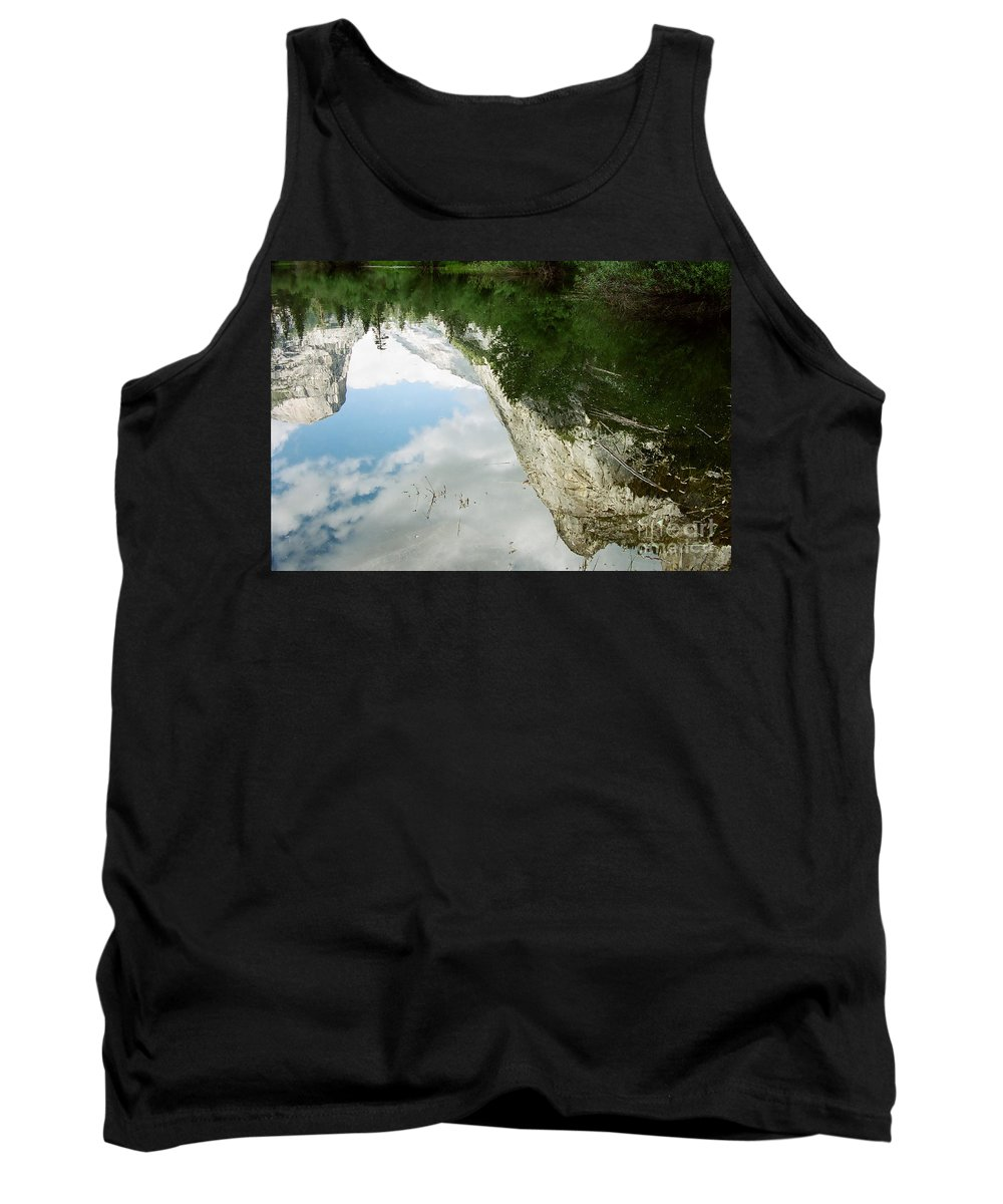 Mirror Lake Tank Top featuring the photograph Mirrored by Kathy McClure