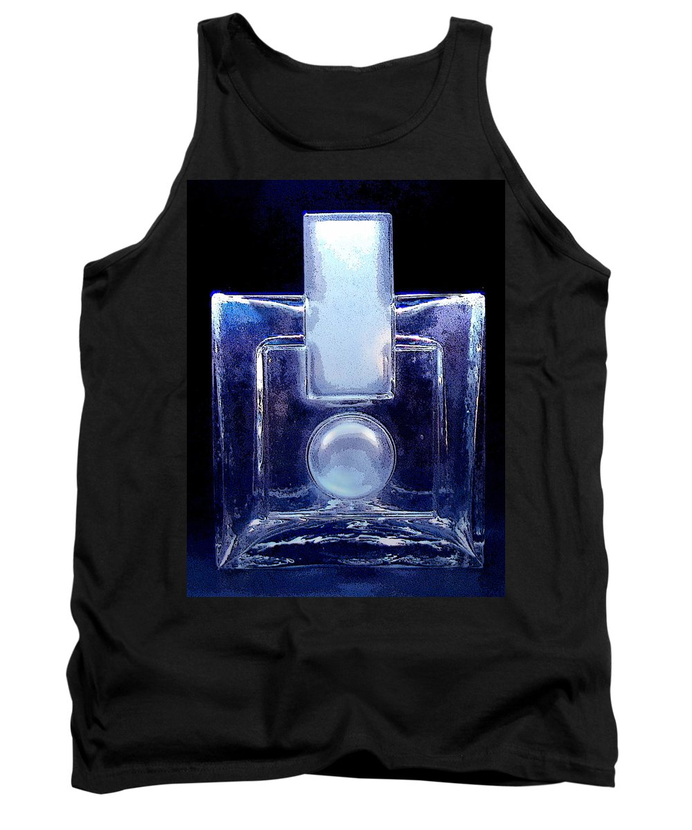 Humppila Tank Top featuring the photograph Modern Design Vase by Merja Waters