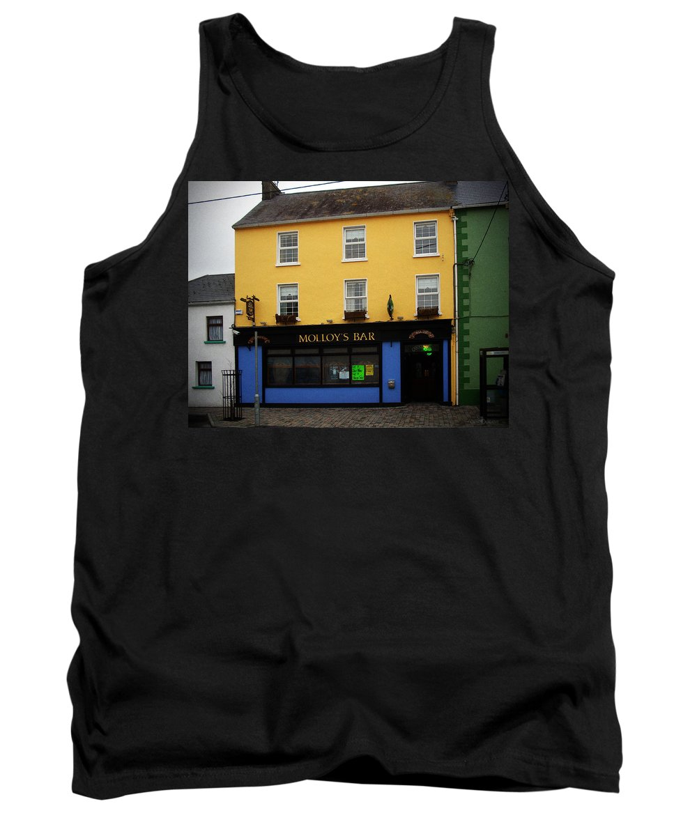 Pub Tank Top featuring the photograph Molloy by Tim Nyberg