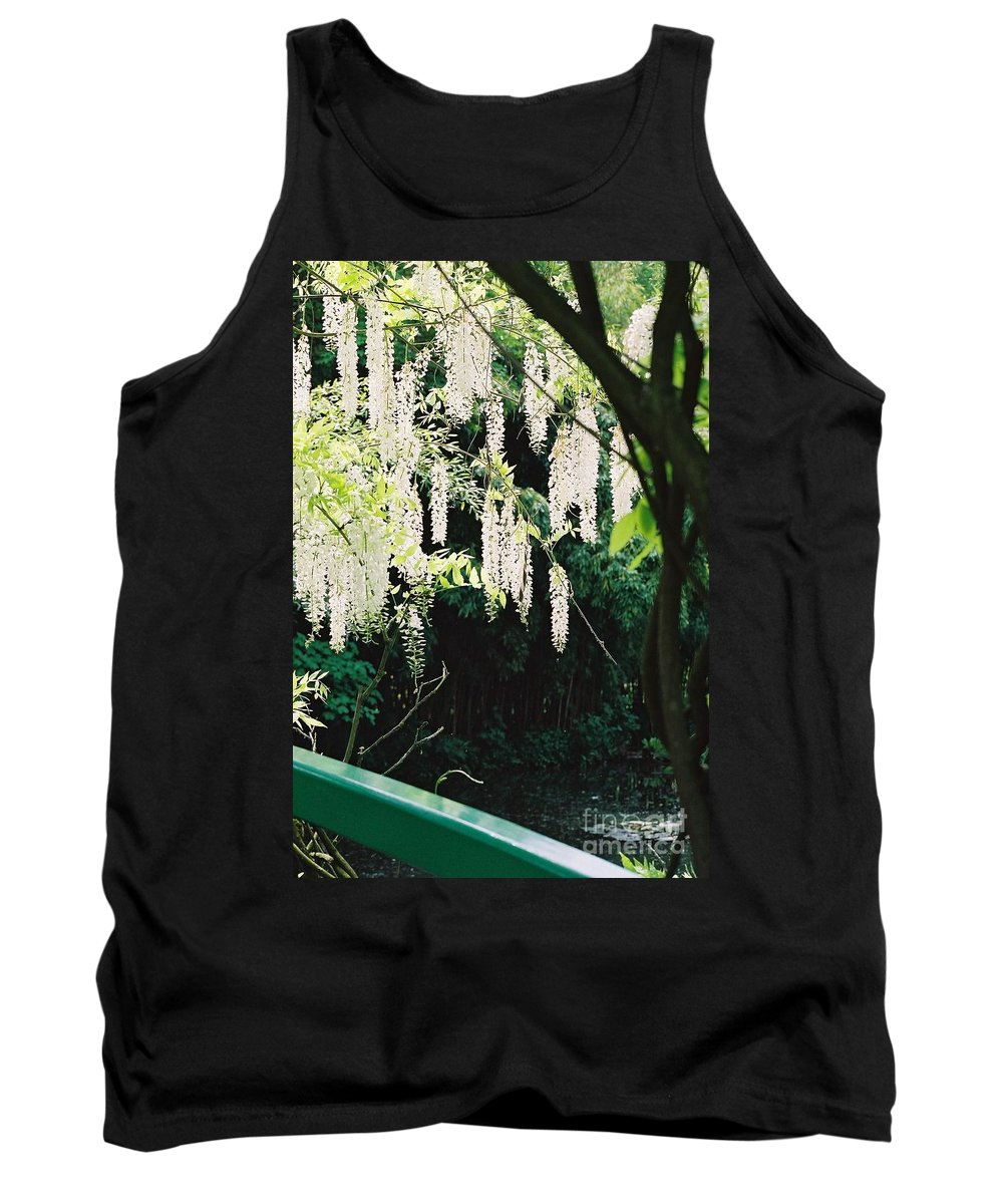 Monet Tank Top featuring the photograph Monet's Garden Delights by Nadine Rippelmeyer