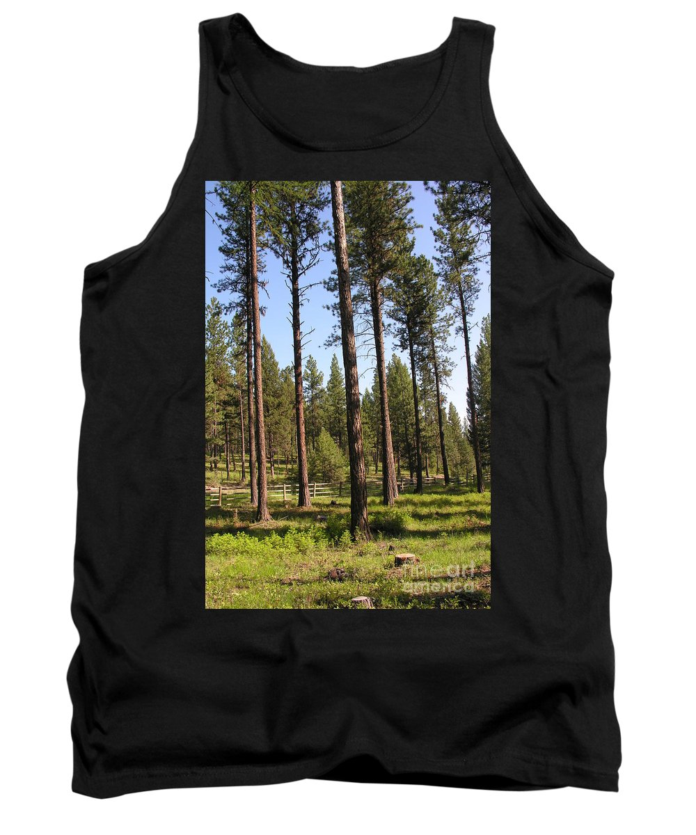 Montana Tank Top featuring the photograph Montana Country by Diane Greco-Lesser