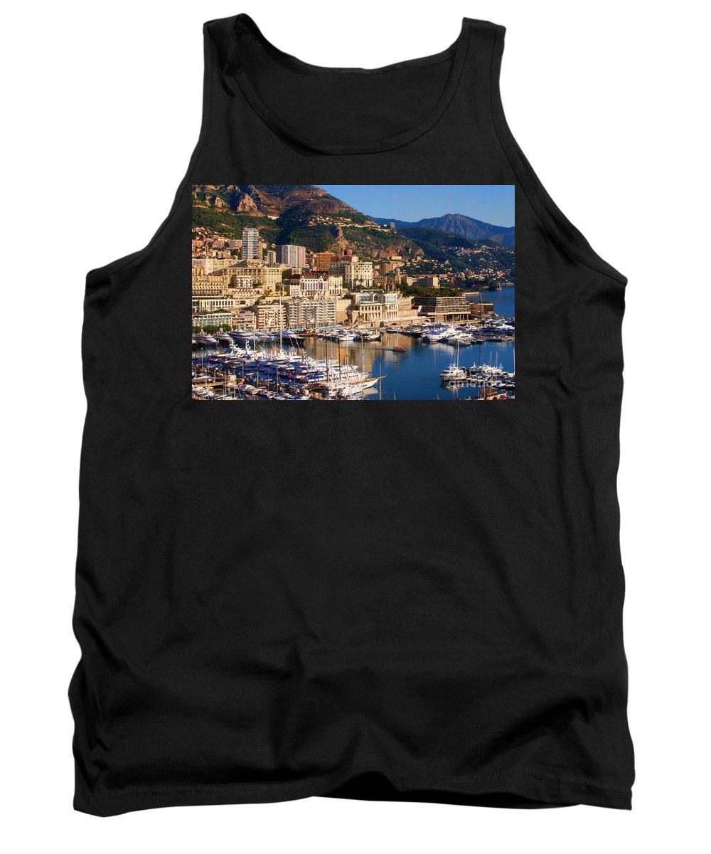 Europe Photograph Tank Top featuring the photograph Monte Carlo by Tom Prendergast
