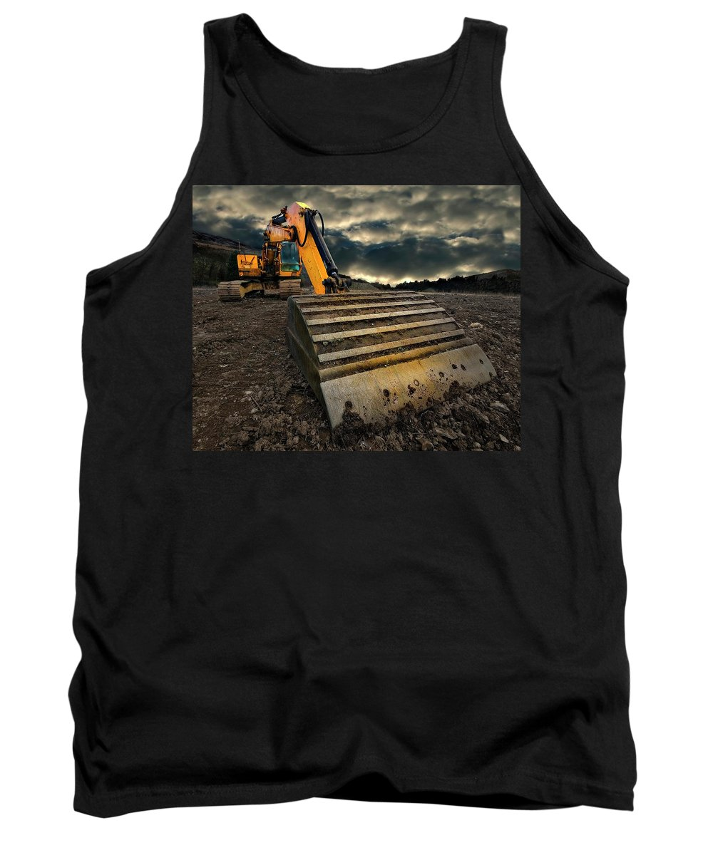 Excavation Photographs Tank Tops