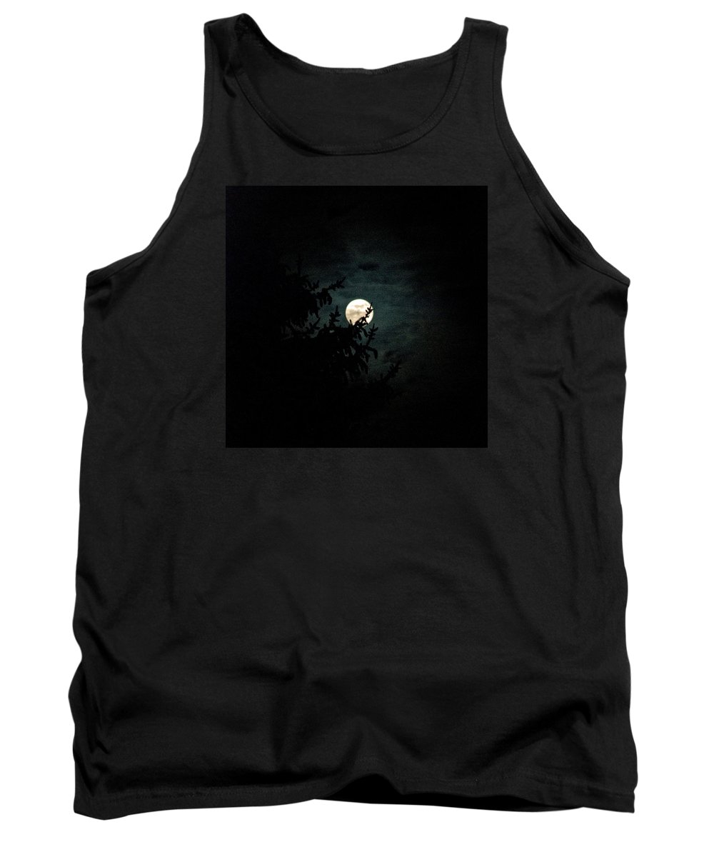 Tank Top featuring the photograph Moonlight by Carol Eliassen