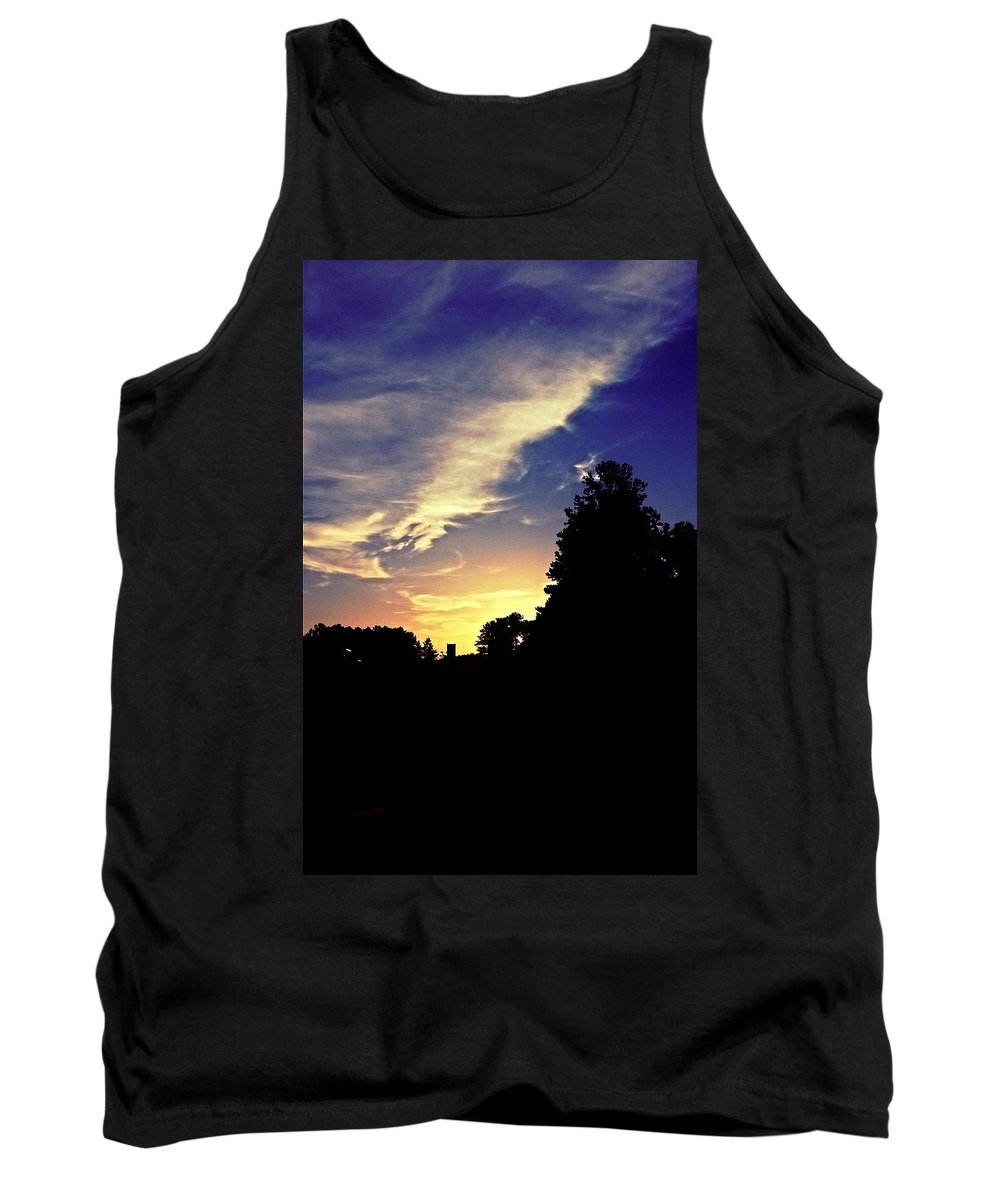 Morning In Helena Tank Top featuring the photograph Morning In Helena by Maria Urso