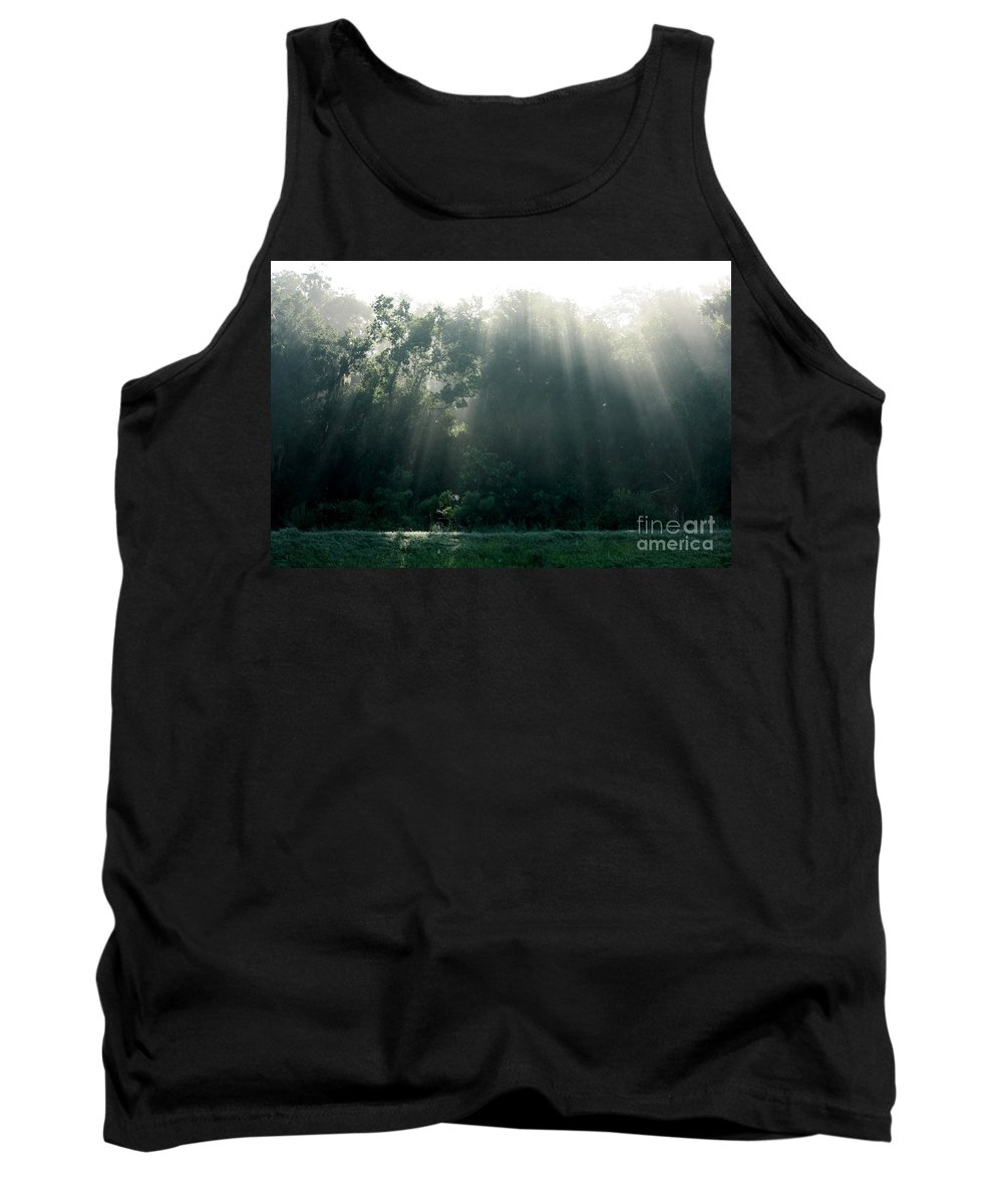Light Tank Top featuring the photograph Morning Sunshine by Carol Groenen