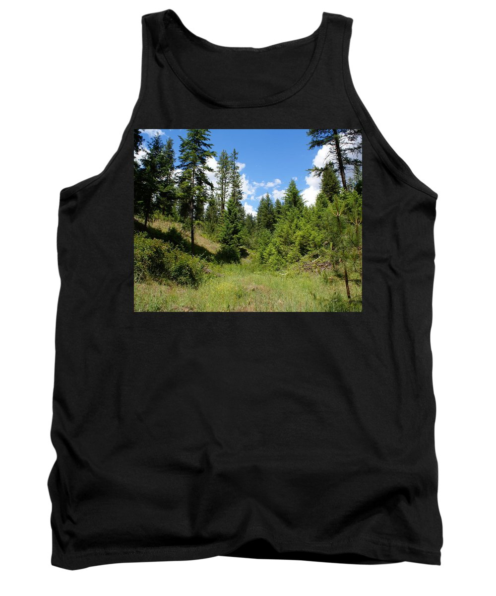 Nature Tank Top featuring the photograph Mother Earth by Ben Upham III