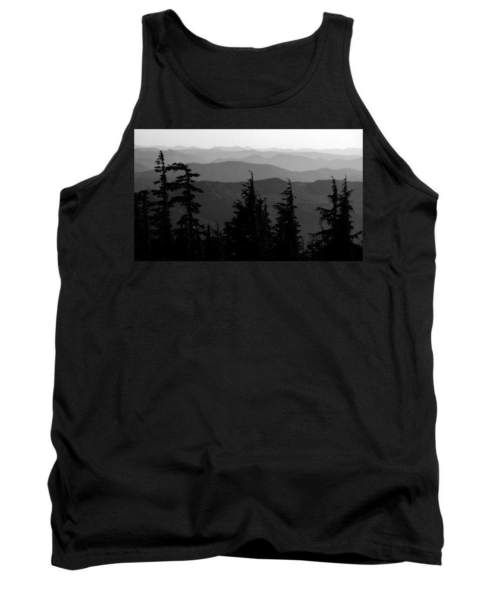Mount Hood National Forest Tank Top featuring the photograph Mount Hood National Forest by David Lee Thompson