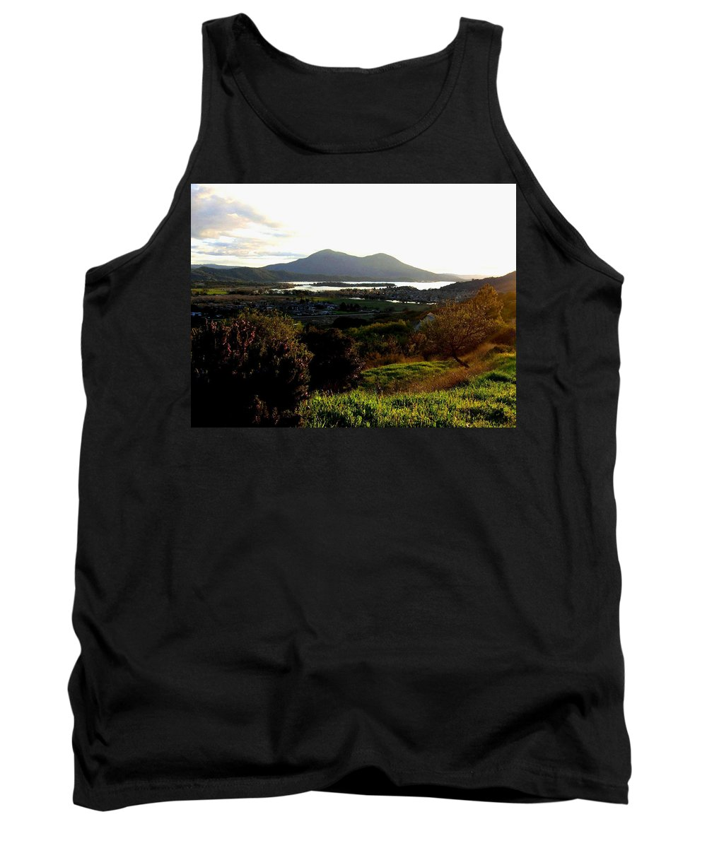 Mount Konocti Tank Top featuring the photograph Mount Konocti by Will Borden
