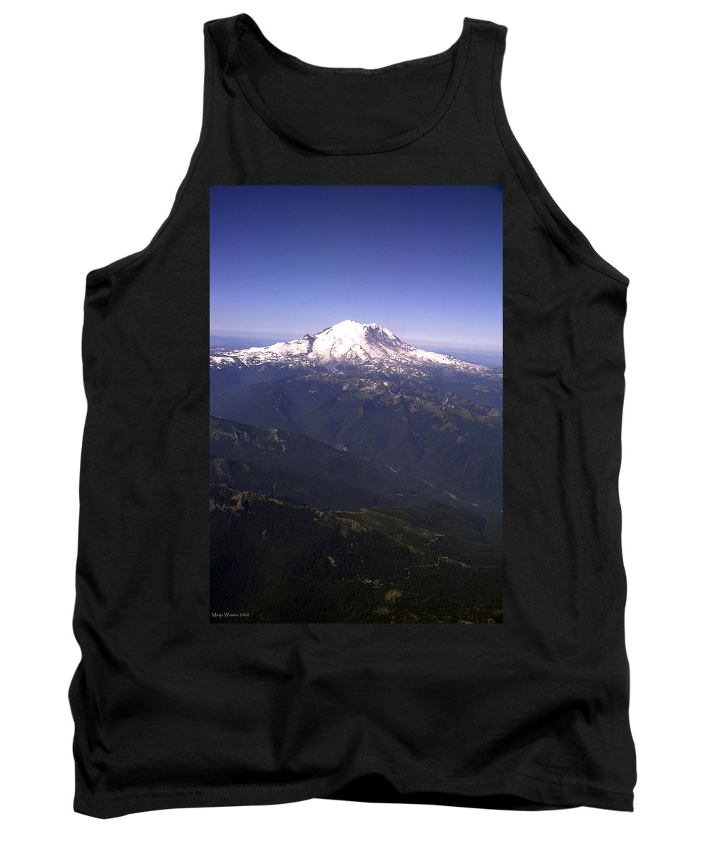 Mount Rainier Tank Top featuring the photograph Mount Rainier Washington State by Merja Waters