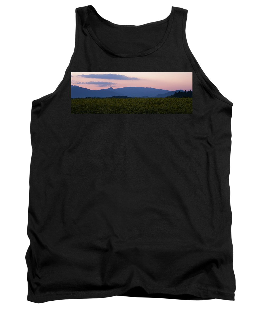 Brnik Tank Top featuring the photograph Mountain Dawn by Ian Middleton