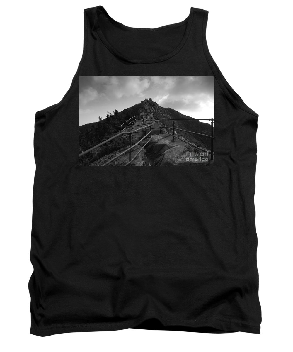 White Face Mountain New York Tank Top featuring the photograph Mountain Trail by David Lee Thompson