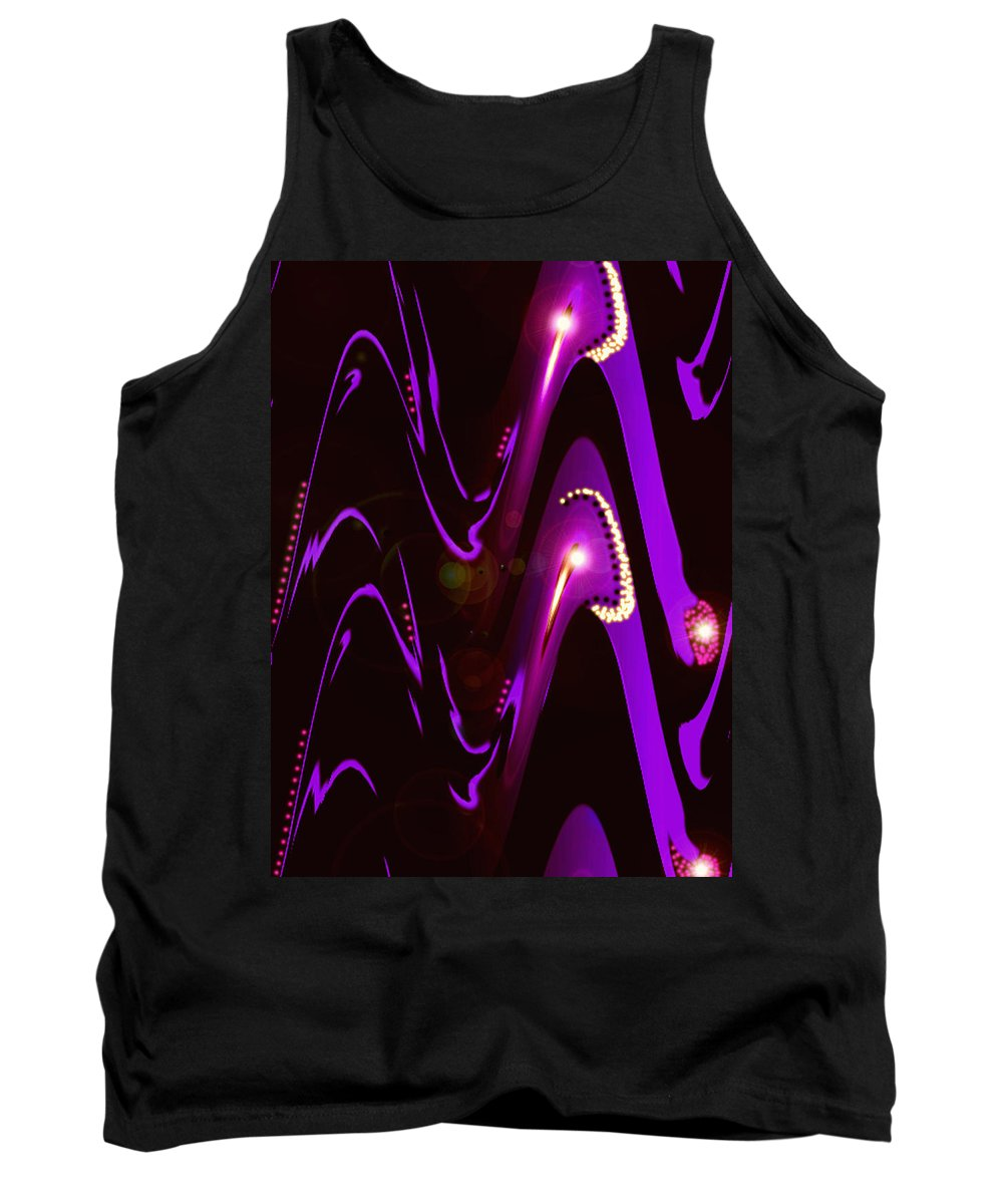 Moveonart! Digital Gallery Tank Top featuring the digital art Moveonart Speaking Of Mysterious Dream And Revelations by Jacob Kanduch