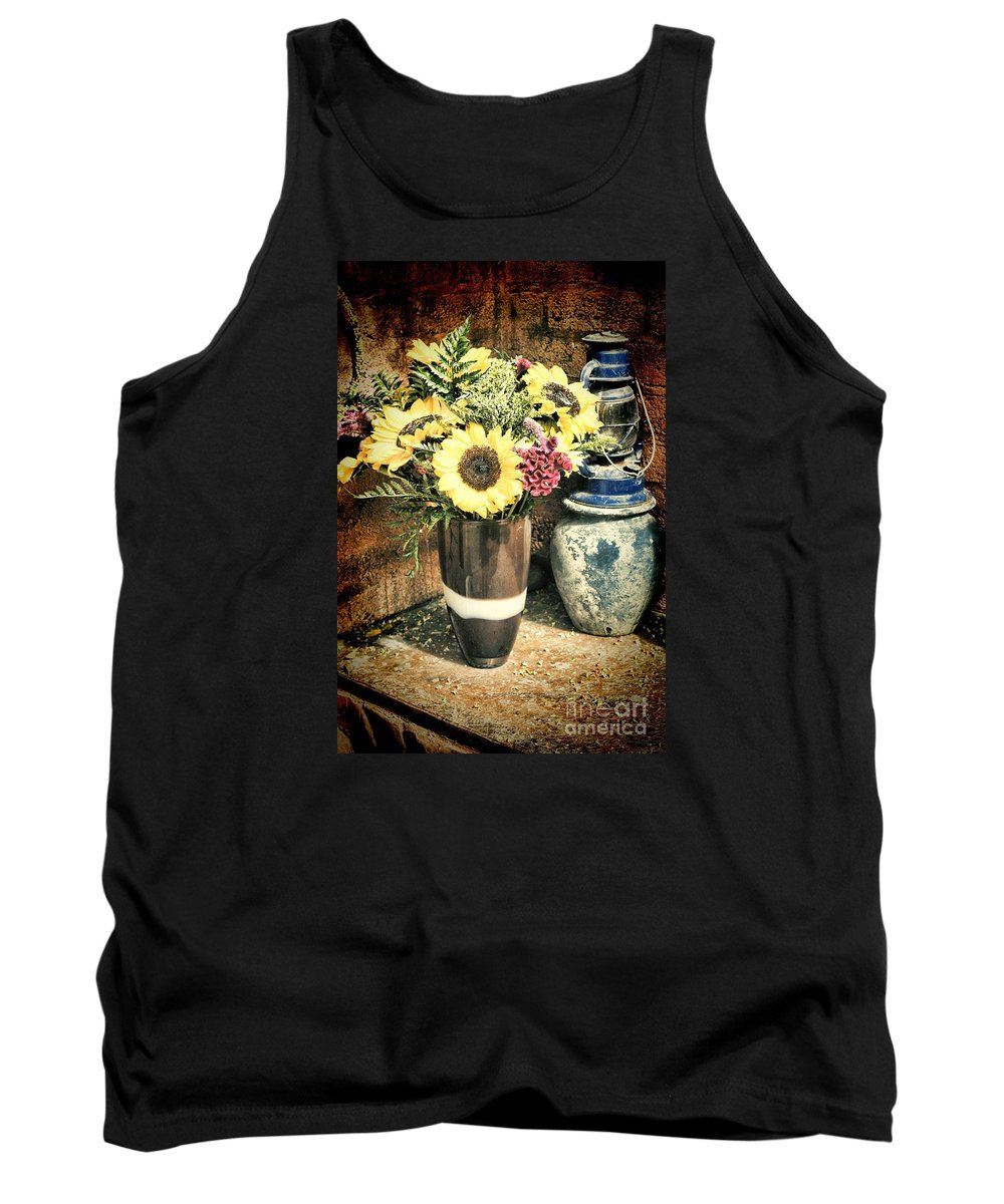 Flowers Tank Top featuring the photograph Msc by Caddelle Faulkner
