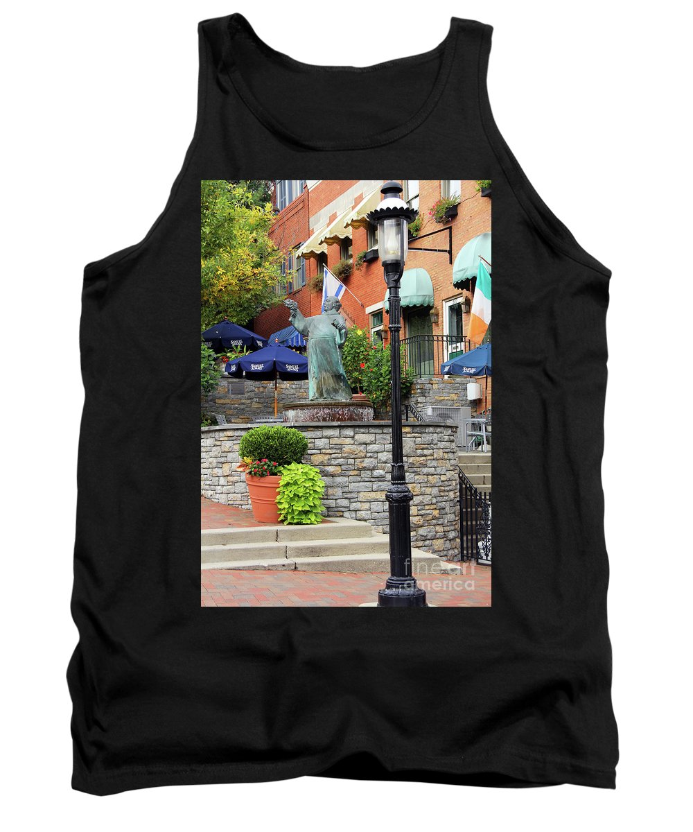 Mount Adams Tank Top featuring the photograph Mt Adams Fountain 2 0036 by Jack Schultz