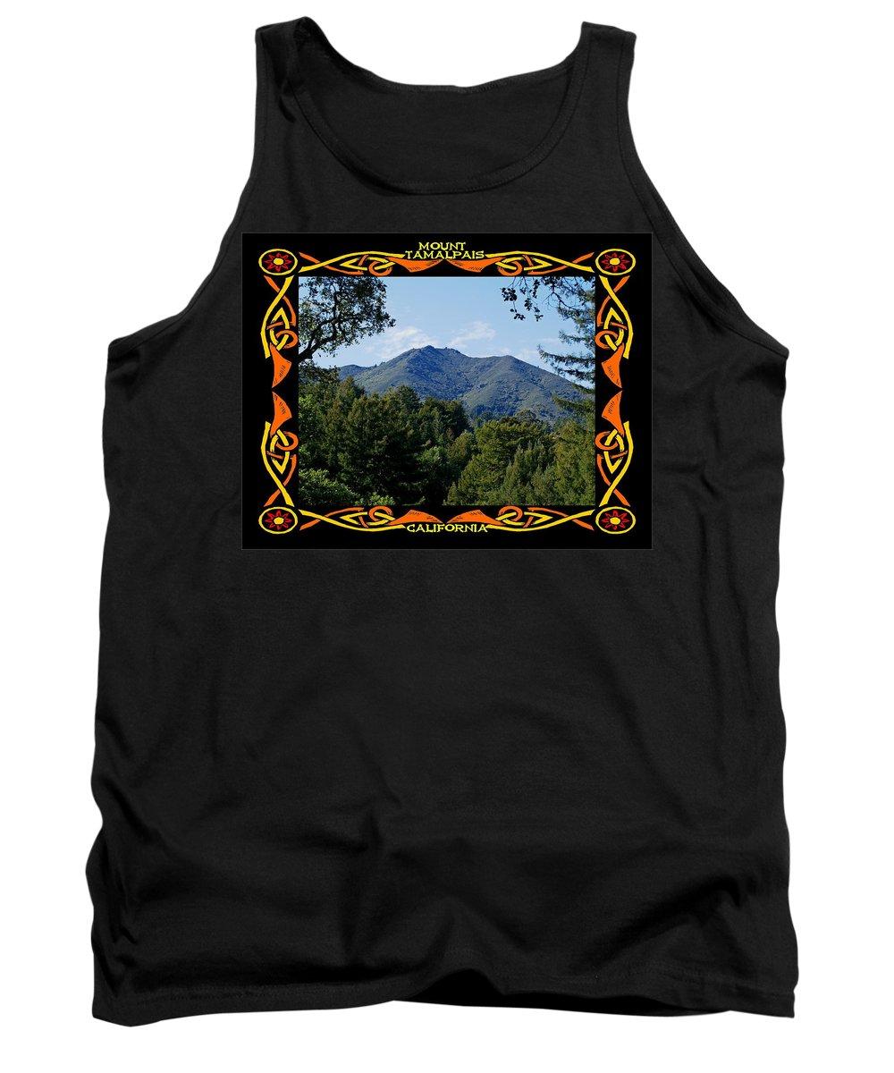 Mount Tamalpais Tank Top featuring the photograph Mt Tamalpais Framed 1 by Ben Upham III