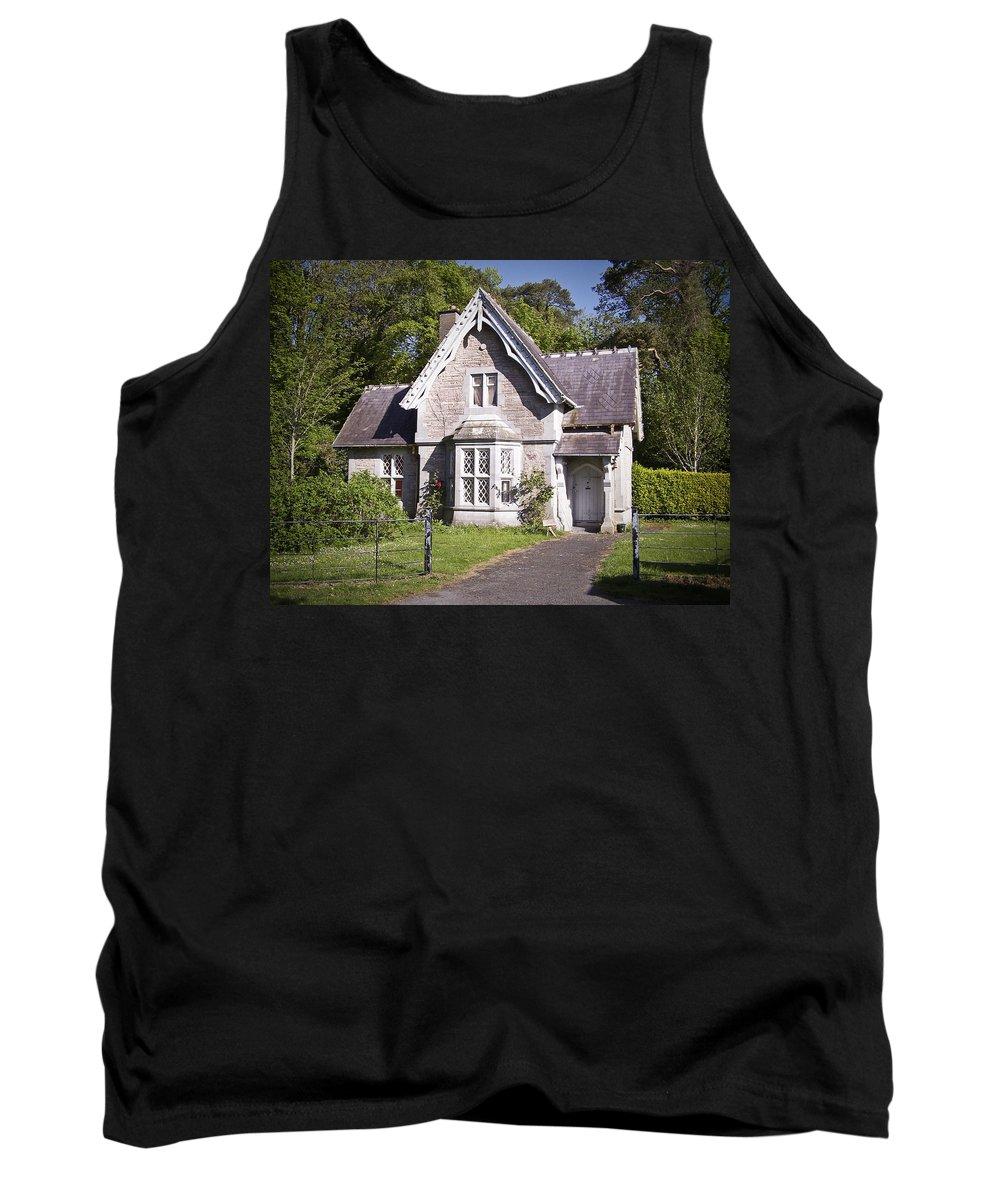 Irish Tank Top featuring the photograph Muckross Cottage Killarney Ireland by Teresa Mucha