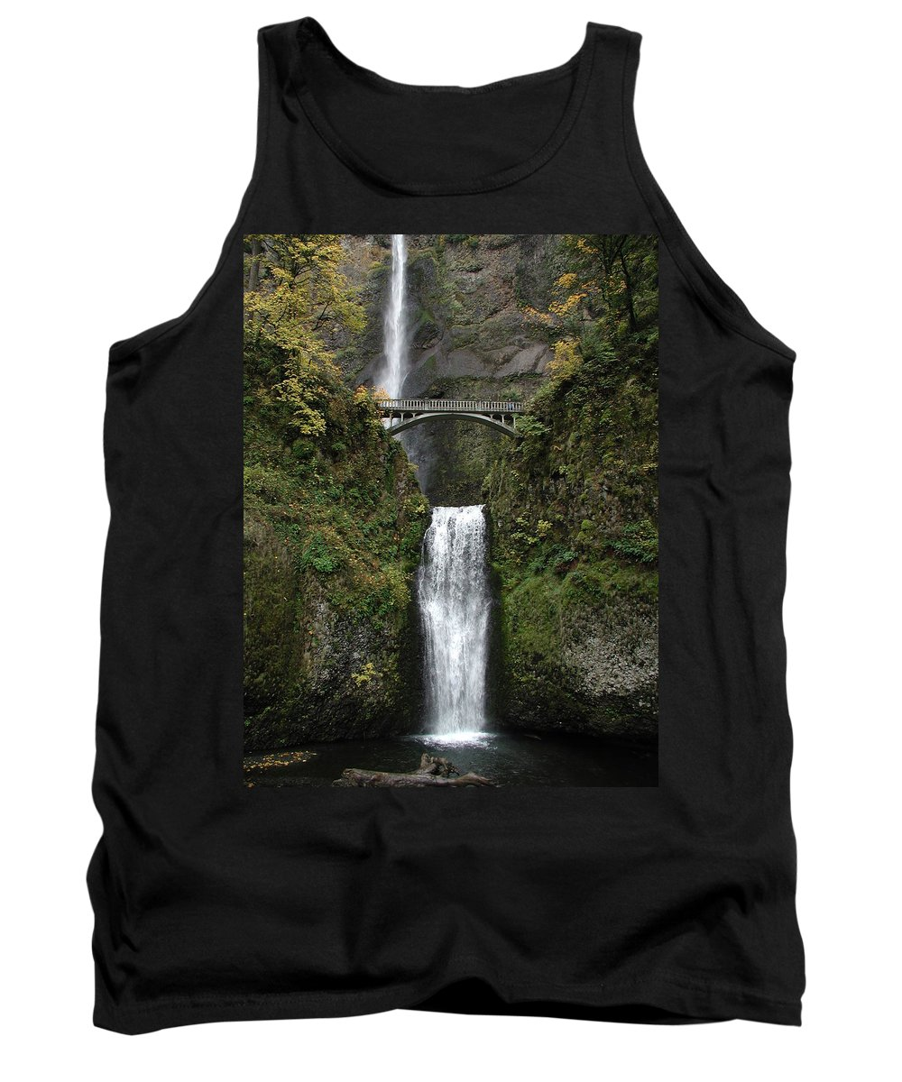 Multnomah Falls Tank Top featuring the photograph Multnomah Falls 1 by D'Arcy Evans