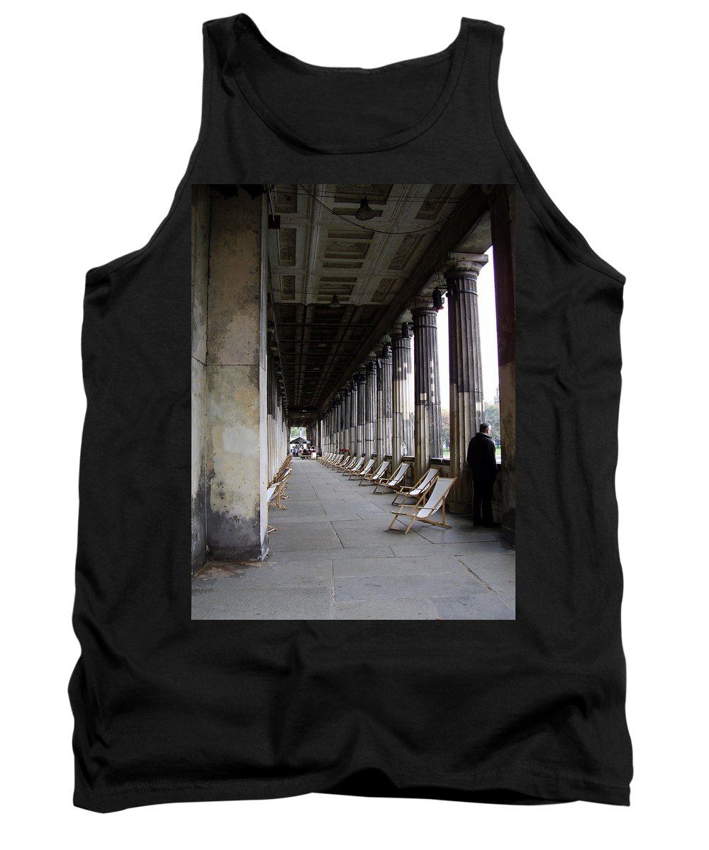 Museumsinsel Tank Top featuring the photograph Museumsinsel by Flavia Westerwelle
