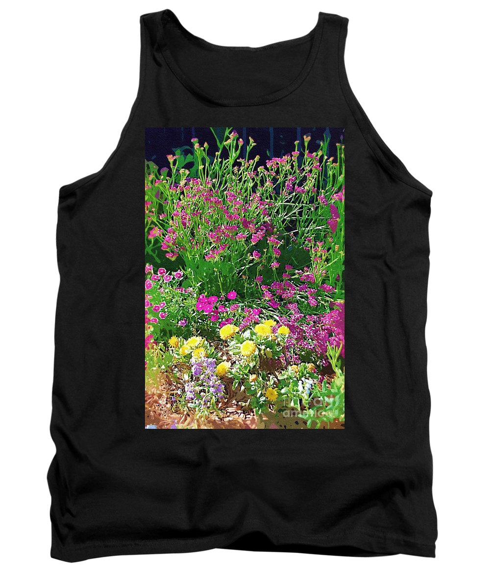 Gardens Tank Top featuring the photograph My Garden  by Donna Bentley