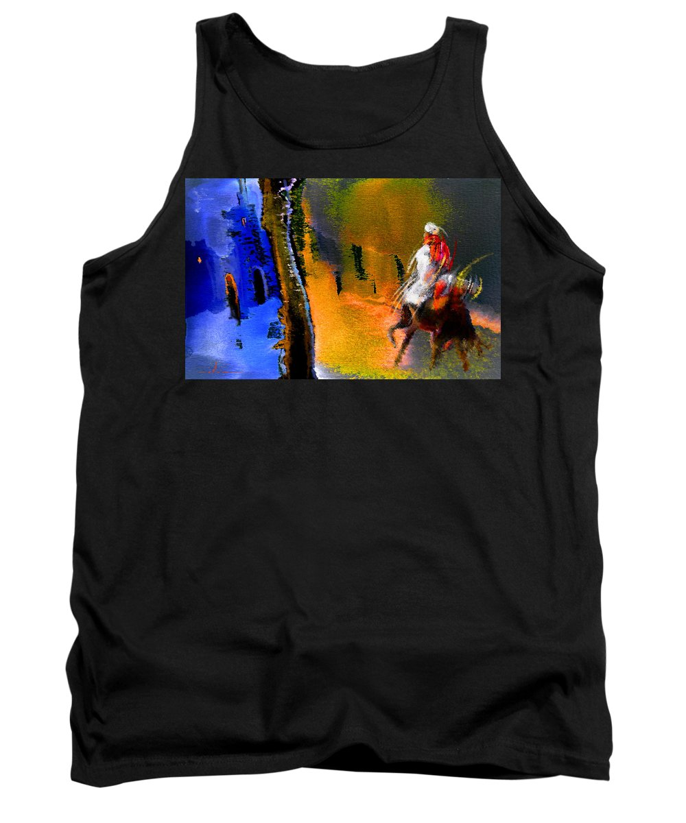 Dream Tank Top featuring the painting My Oasis by Miki De Goodaboom