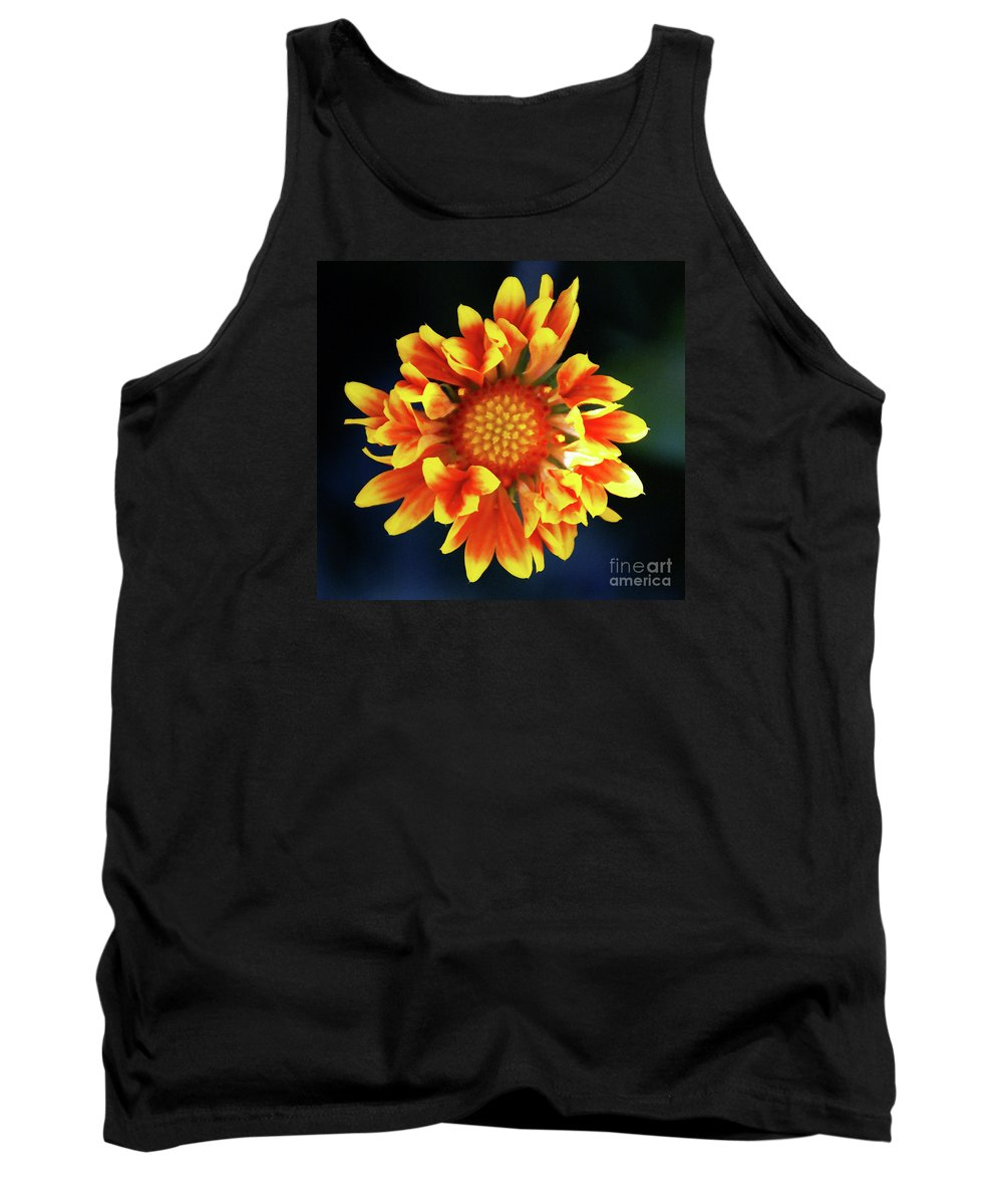 Flower Tank Top featuring the photograph My Sunrise And You by Linda Shafer