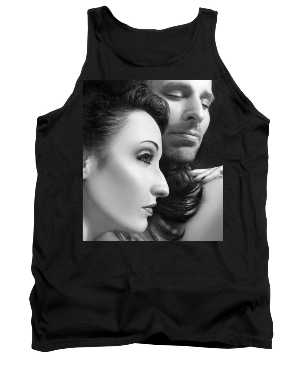 Affection Tank Top featuring the photograph Mysterious Love by Jaeda DeWalt