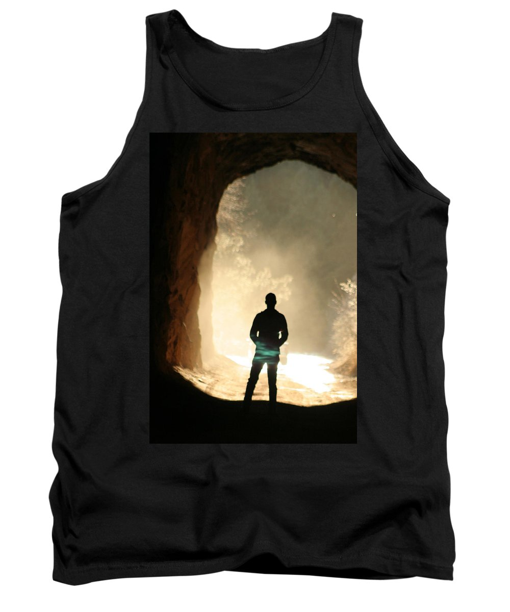 Mystery Tank Top featuring the photograph Mystery by Ric Bascobert