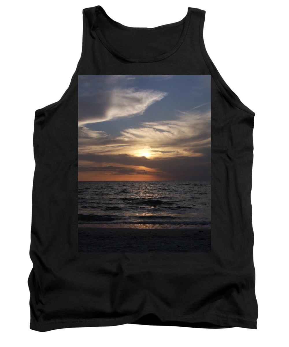 Naples Tank Top featuring the photograph Naples Sunset 0043 by Laurie Paci