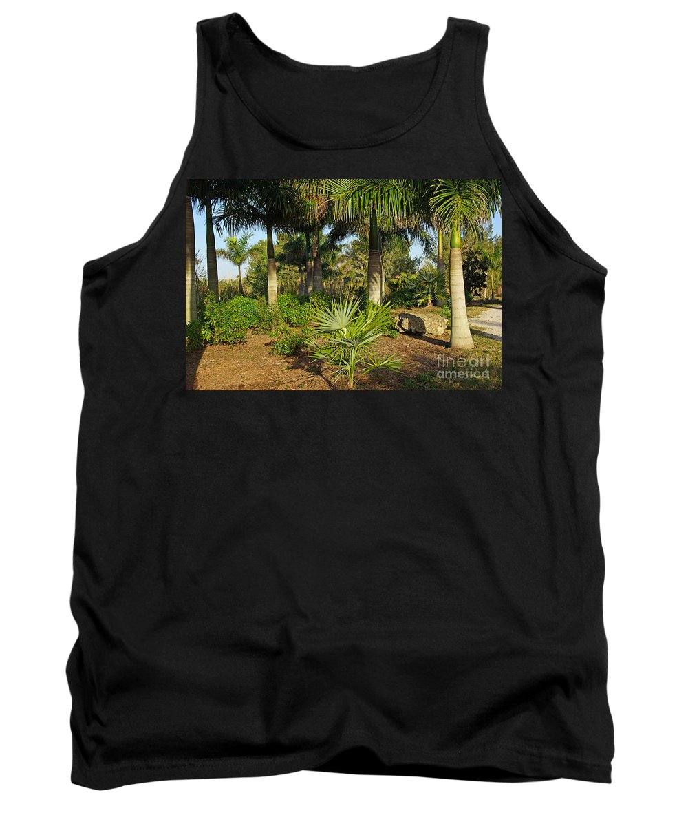 Nature Tank Top featuring the photograph Natural Beauty Of Florida by Zal Latzkovich