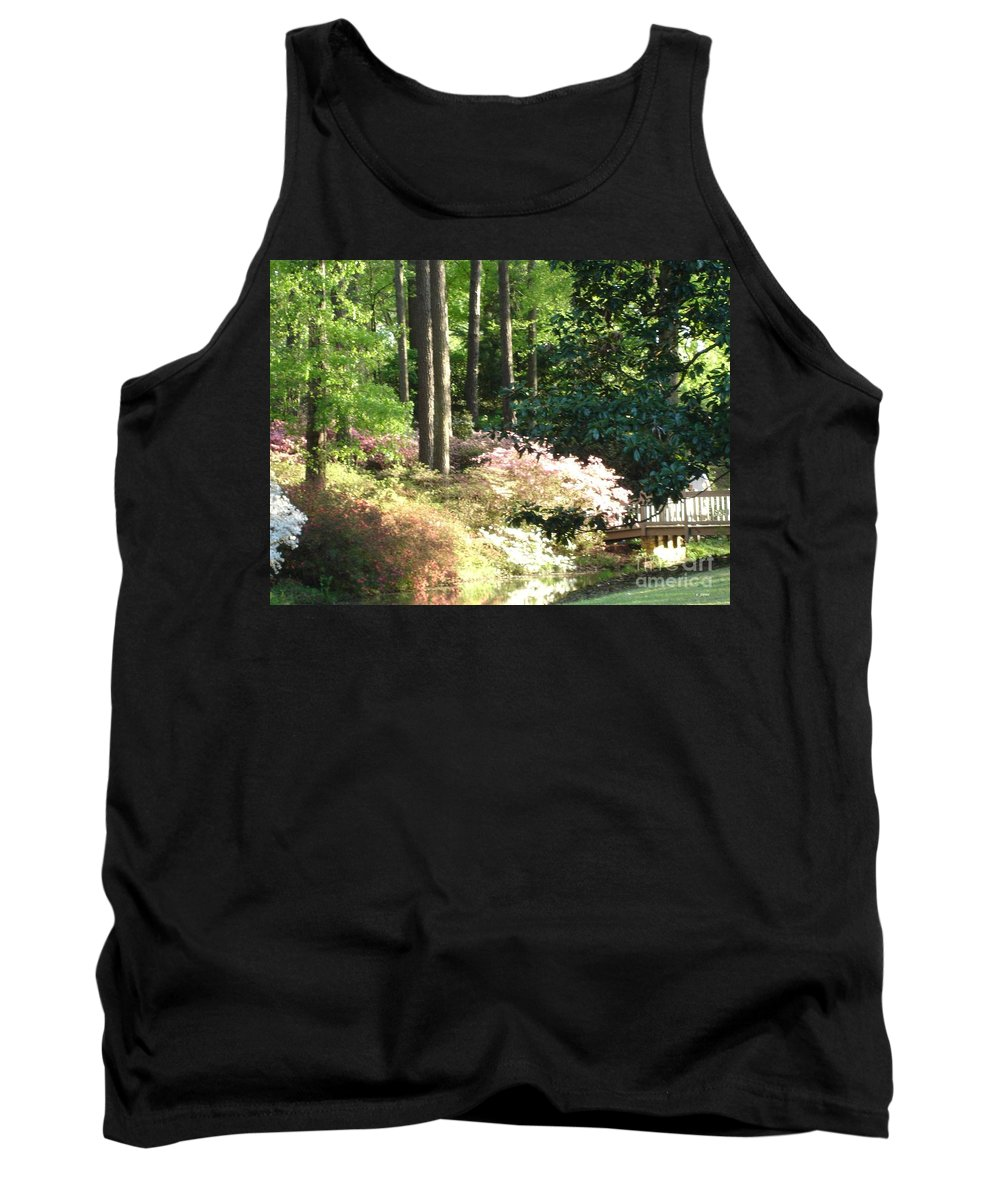 Photography Tank Top featuring the photograph Nature by Shelley Jones