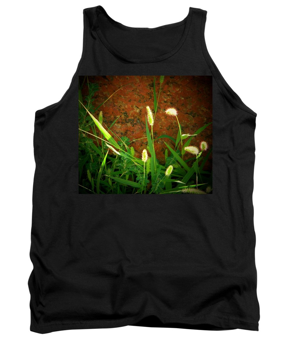 Wild Grasses Tank Top featuring the photograph Nature Untouched by Lenore Senior