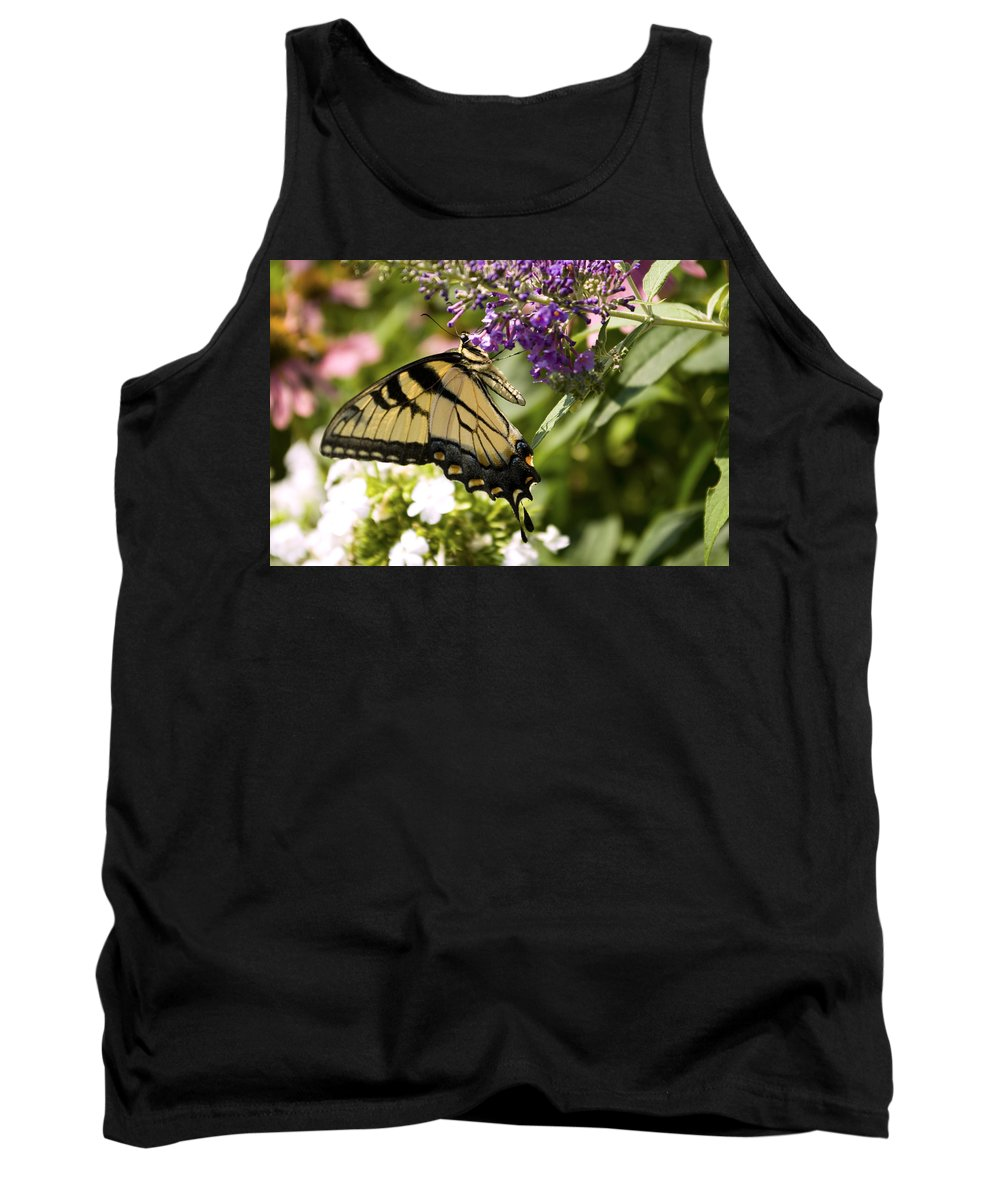 Butterfly Tank Top featuring the photograph Nature's Canvas by Scott Wyatt