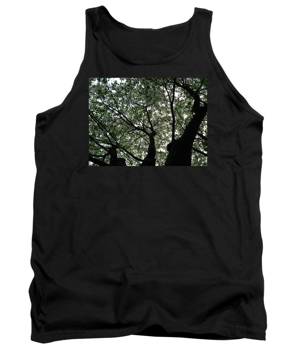 Flowers Tank Top featuring the photograph Nature's Cathedral 2 by Nelson F Martinez