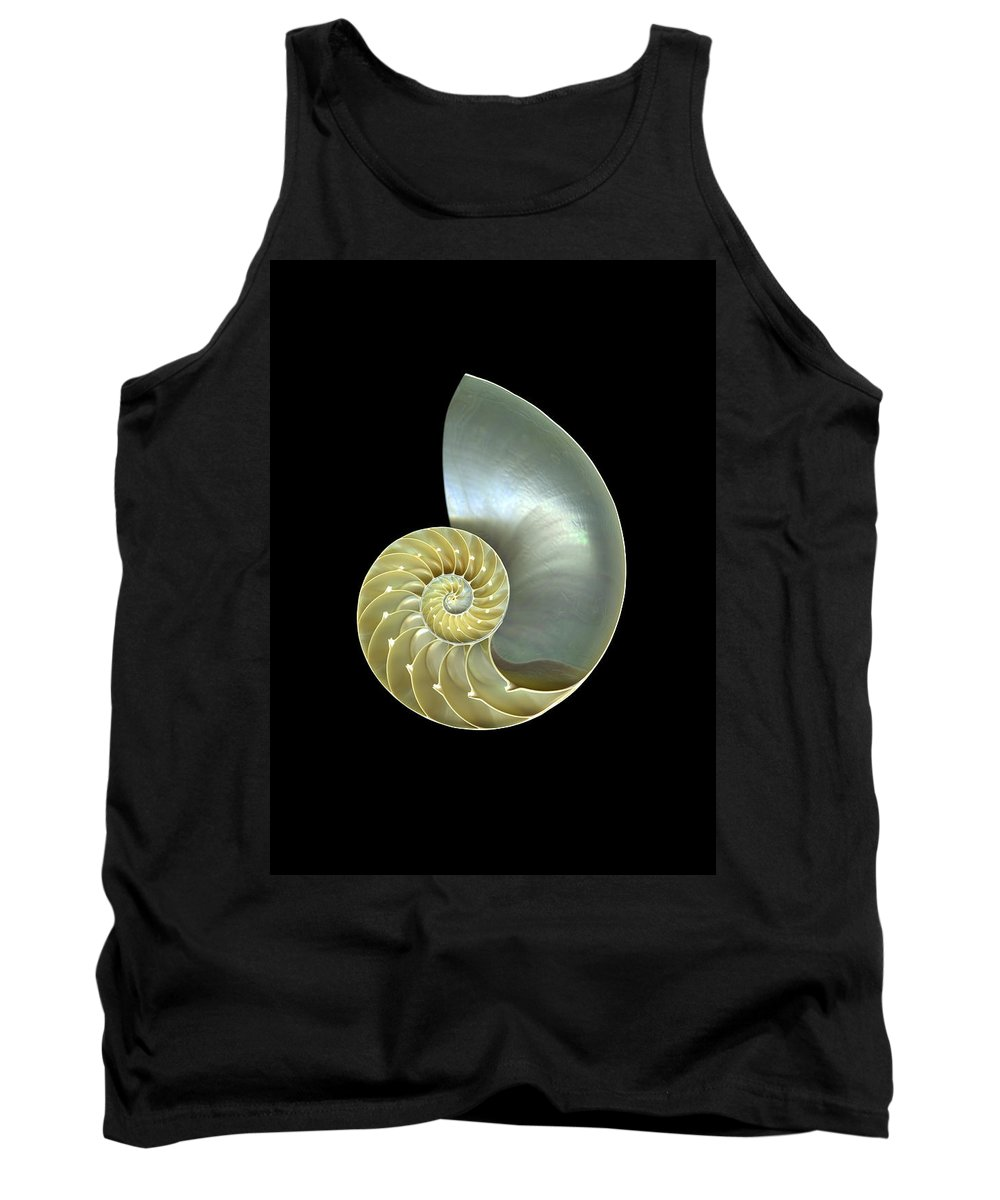 Slanec Tank Top featuring the photograph Nautilus Nr.1 by Christian Slanec