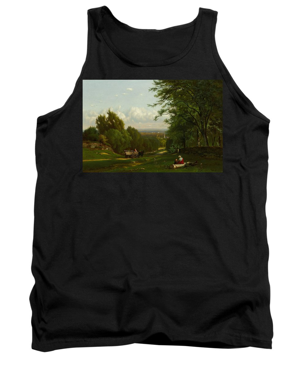 George Inness Tank Top featuring the painting Near Leeds, New York by George Inness