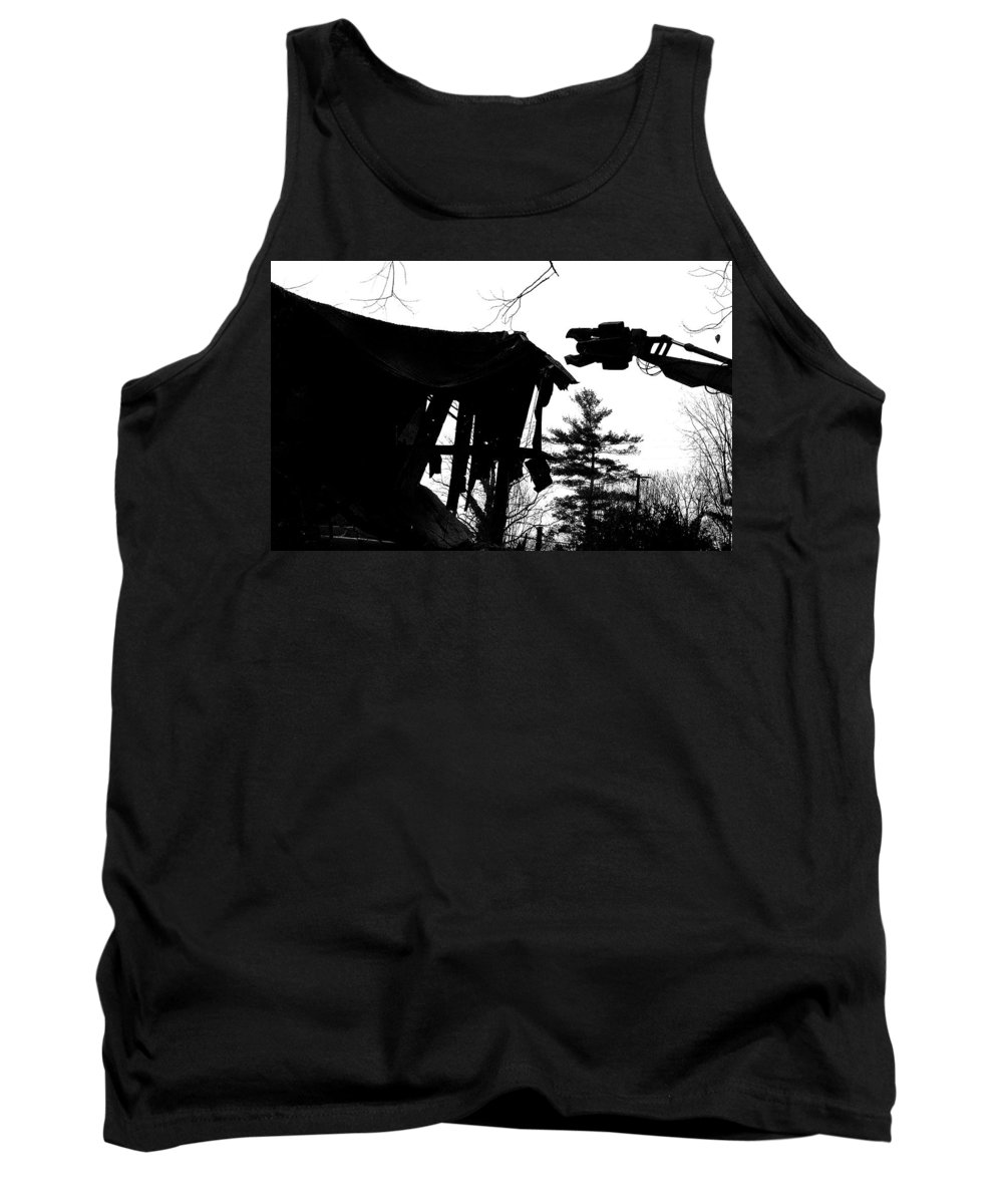 Machine Tank Top featuring the photograph Nessie by Jean Macaluso