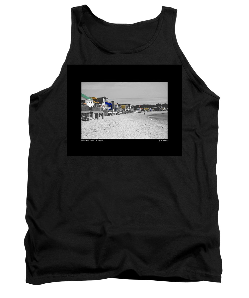 Summer Tank Top featuring the photograph New England Summer by J Todd