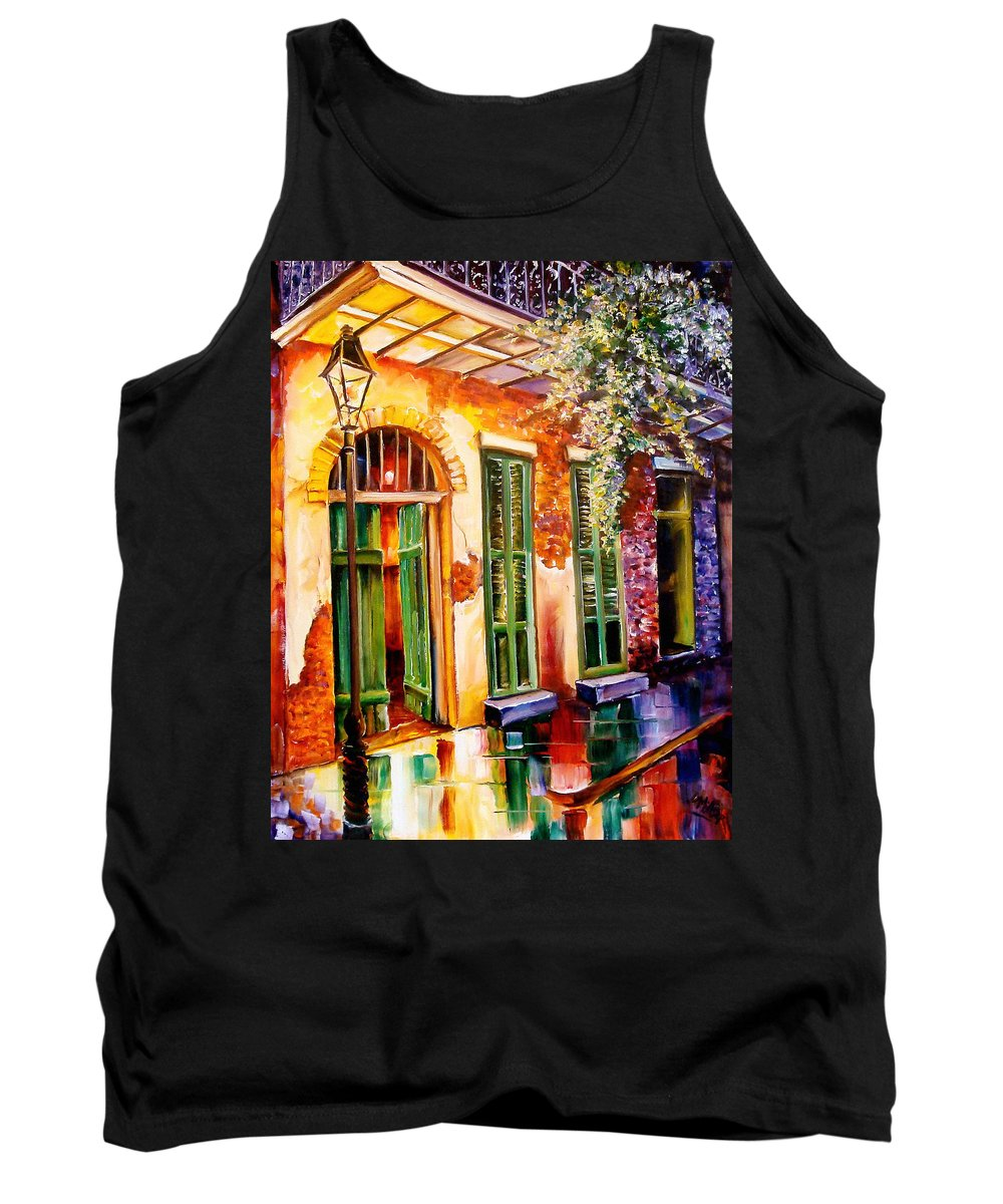 New Orleans Tank Top featuring the painting New Orleans Mystery by Diane Millsap