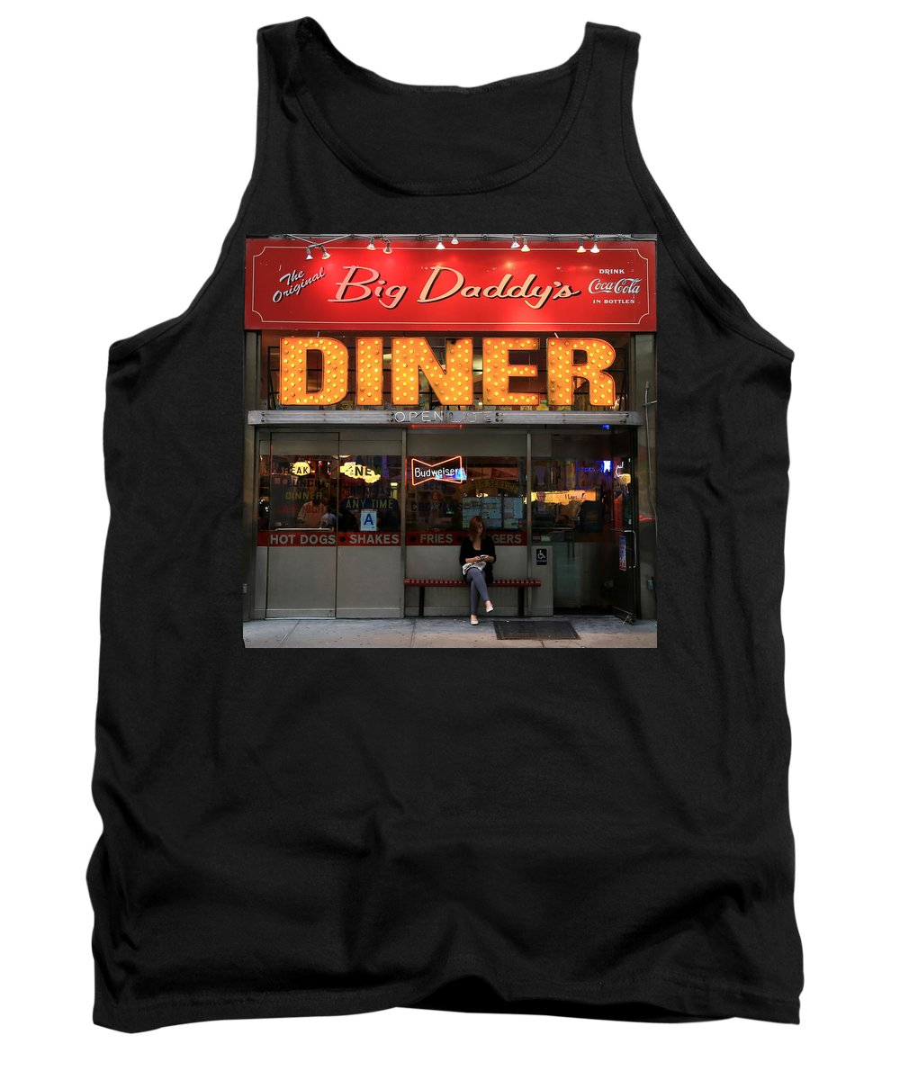 Diner Tank Top featuring the photograph New York Diner 1 by Andrew Fare