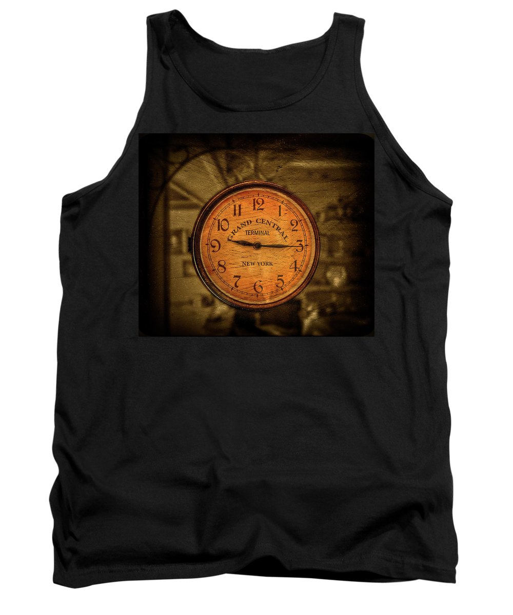 Antique Tank Top featuring the photograph New York Times by Evelina Kremsdorf