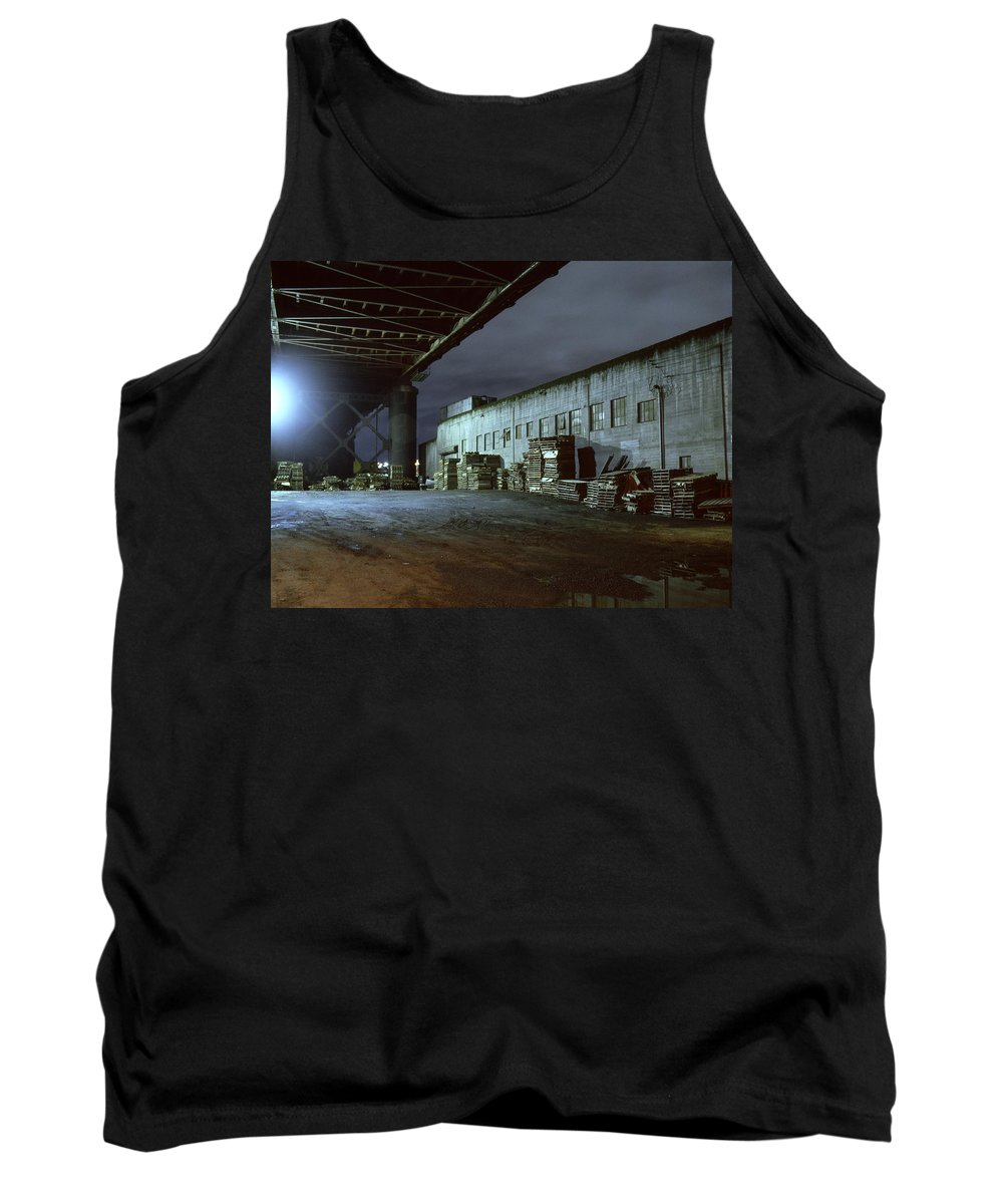 Nightscape Tank Top featuring the photograph Nightscape 1 by Lee Santa