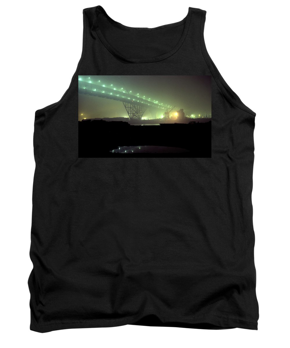 Night Photo Tank Top featuring the photograph Nightscape 3 by Lee Santa