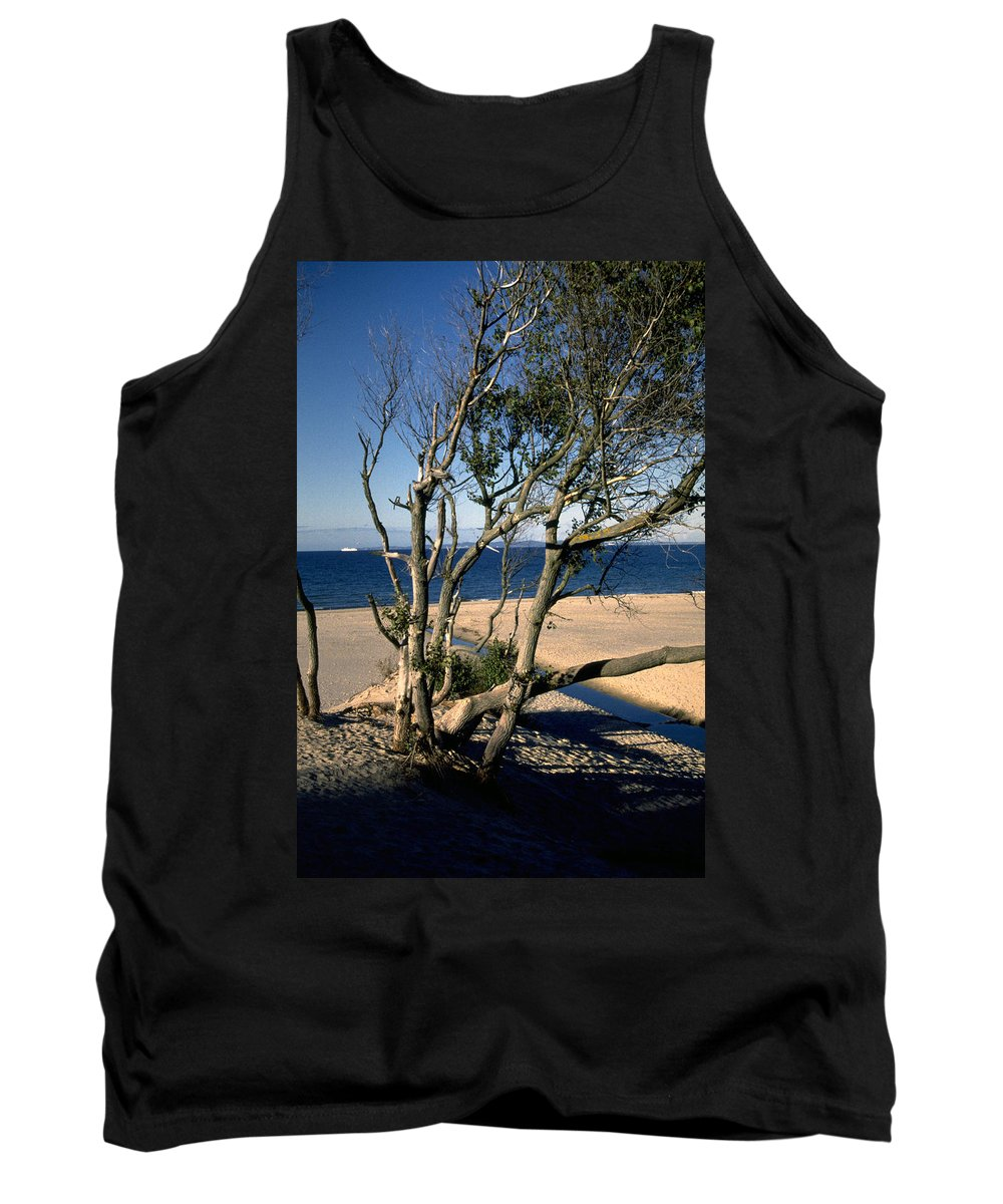 Denmark Tank Top featuring the photograph Nordic Beach by Flavia Westerwelle