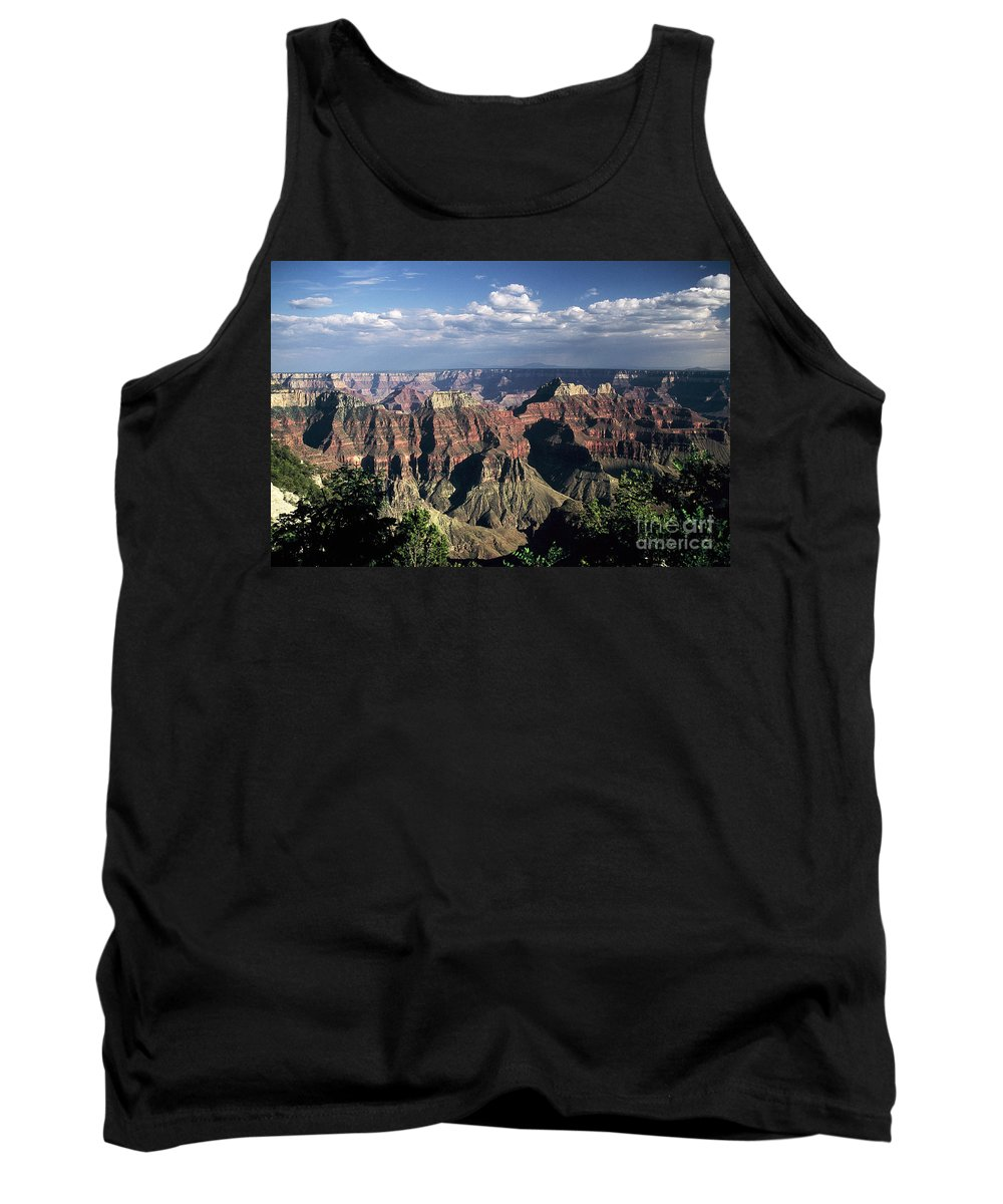 Grand Canyon; National Parks Tank Top featuring the photograph North Rim by Kathy McClure
