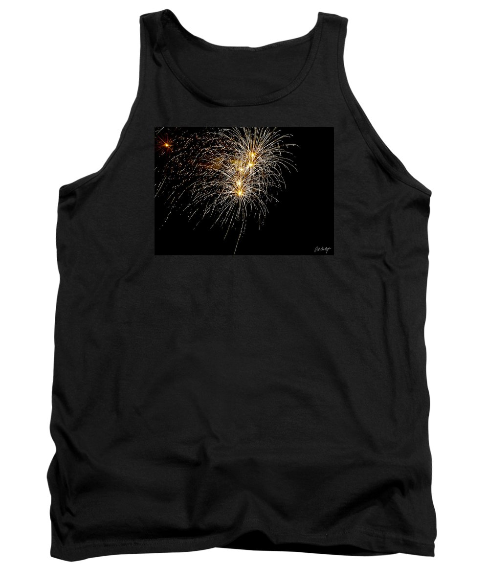 July 4th Tank Top featuring the photograph Northern Star by Phill Doherty