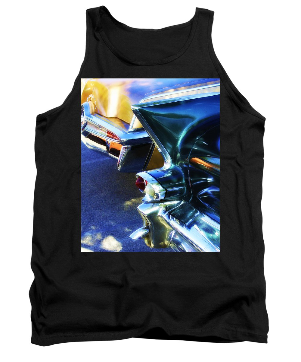 Car Auction Tank Top featuring the photograph Nostalgia by William Dey