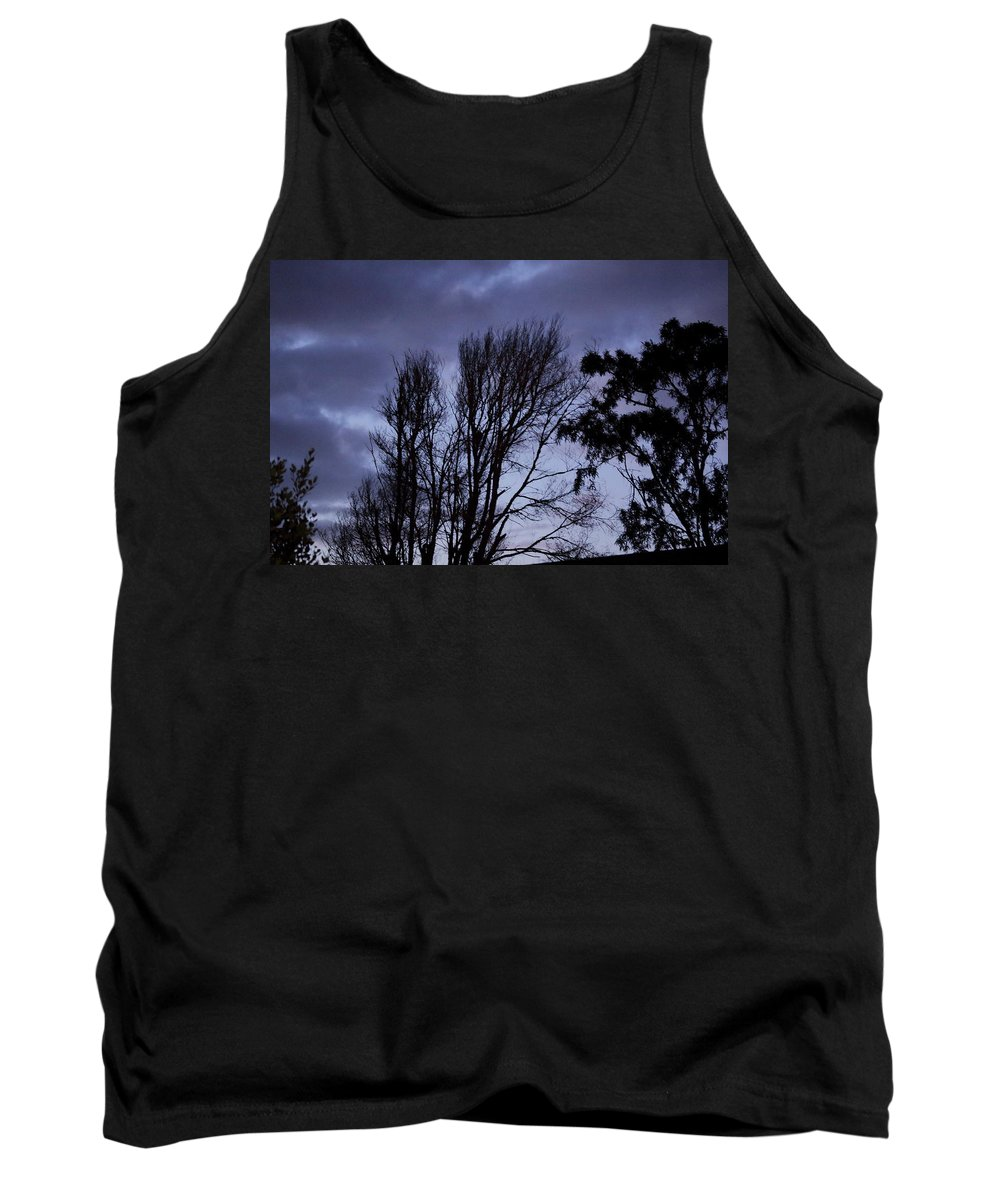 Dark Tank Top featuring the photograph Not Ok But Its Ok by Alice Soanes