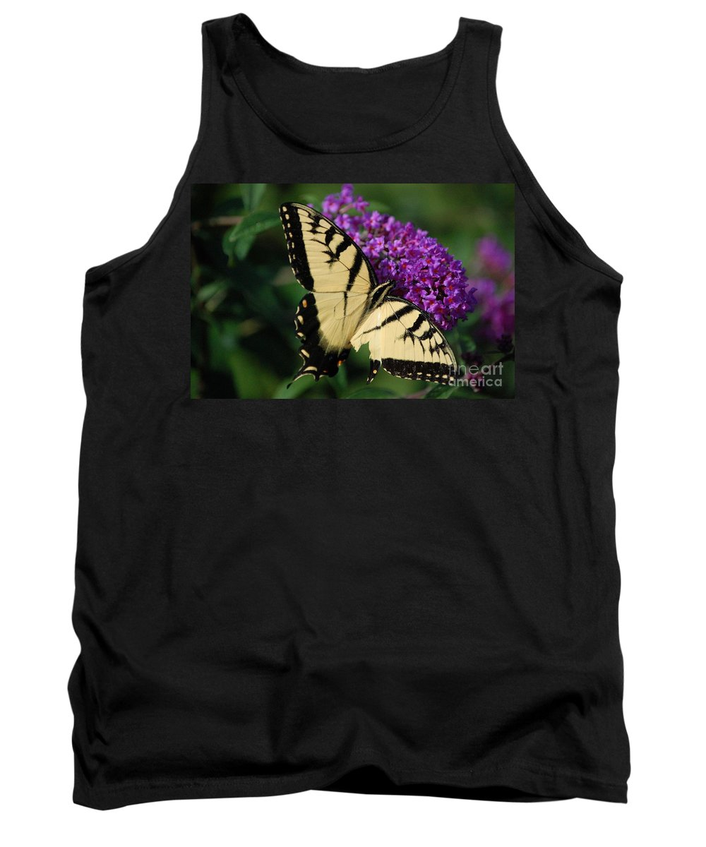 Butterfly Tank Top featuring the photograph Nothing Is Perfect by Debbi Granruth